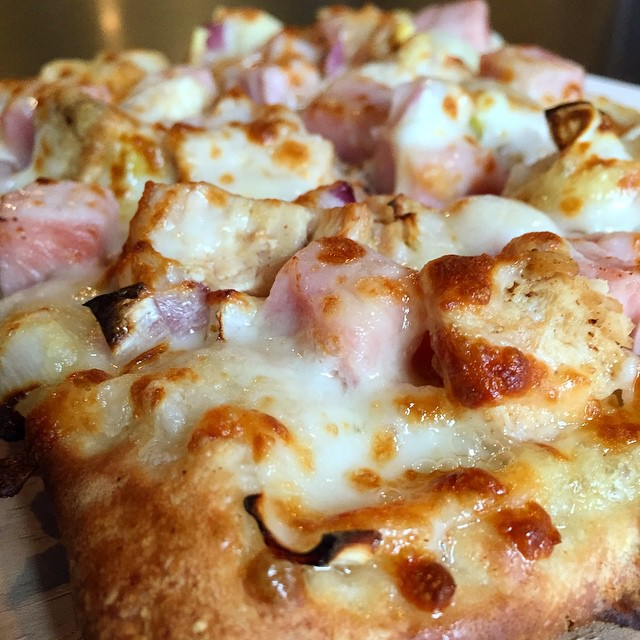 Chicken Cordon Bleu- Pizza of the Week. POW!