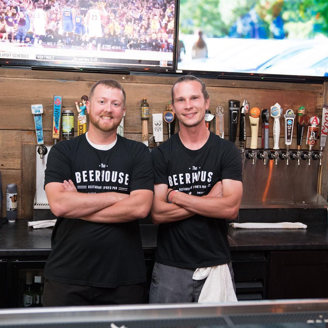 a couple MVPs here at The Beerhouse! Please SHARE friendshellip